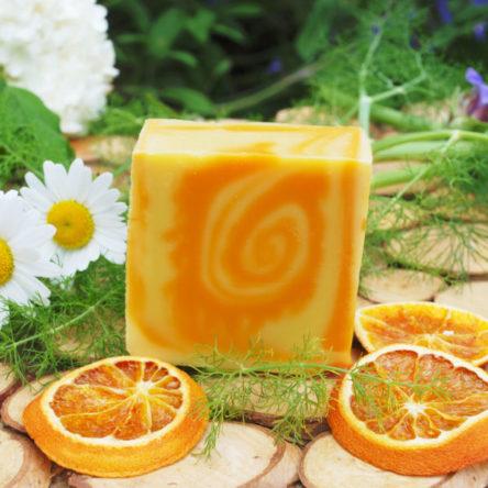 Savon Orange, Abricot & Ylang-Ylang en 65g