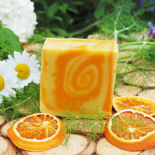 savon orange abricot ylang-ylang