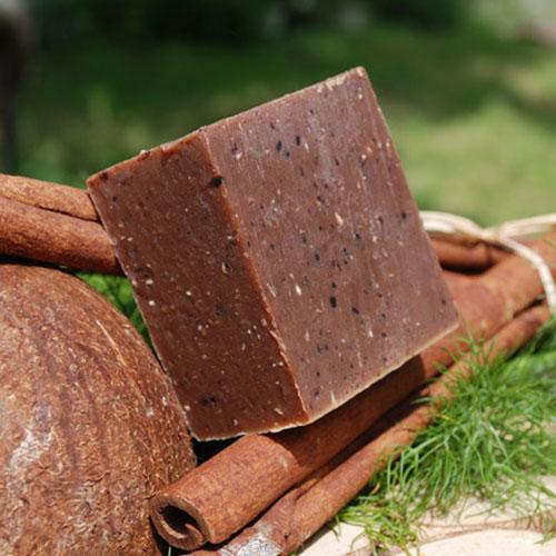 savon chocolat canelle